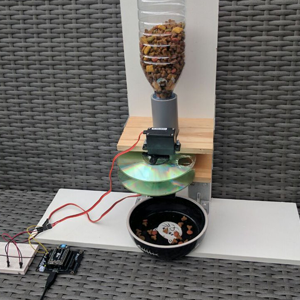 Cat Feeding System made with WiPy