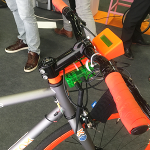 KCOM Bike made with LoPy and connected to AWS