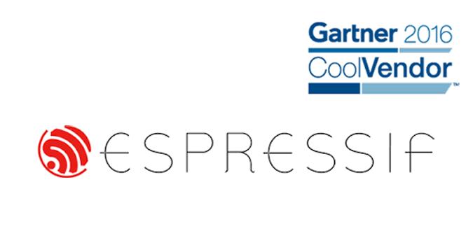 "Espressif Named ""Cool Vendor"" in IoT 2016 by Gartner"