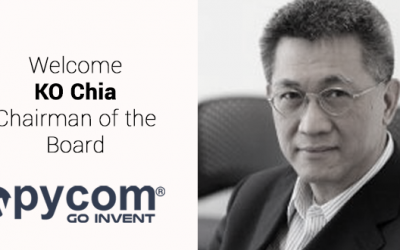Pycom has a new Chairman of the Board