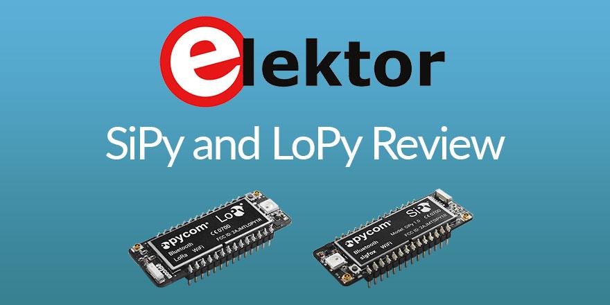 ElektorMagazine review of Pycom IoT Development Boards